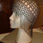 Bonnets de perles noir